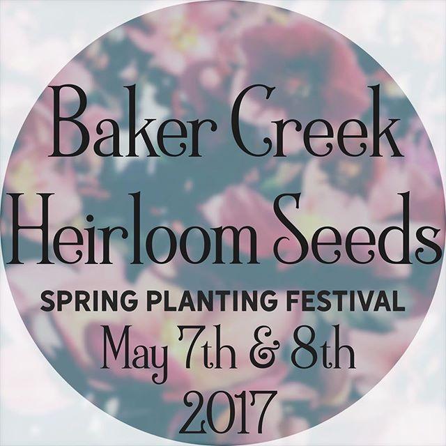 Baker Creek Spring Planting Festival